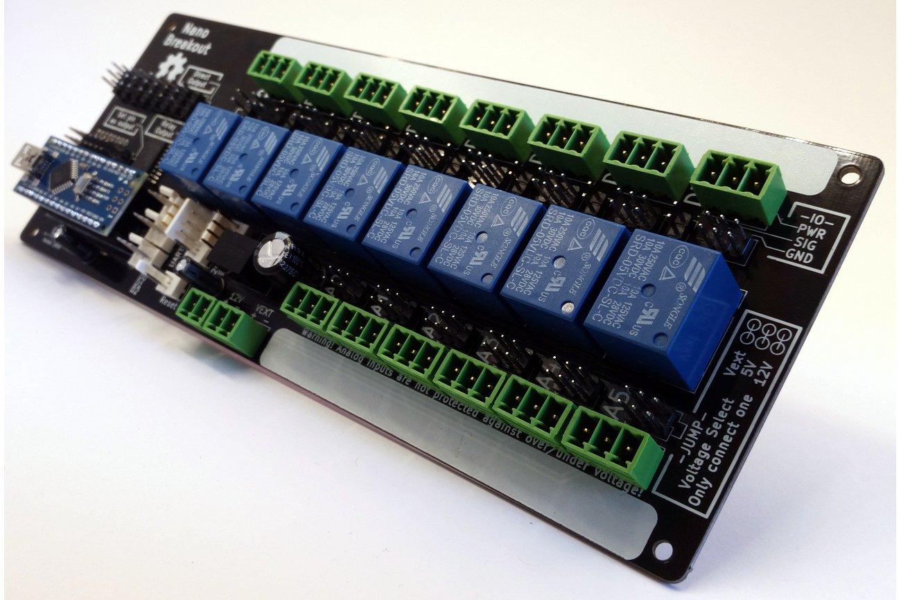 Arduino nano breakout from jamesfowkes on tindie