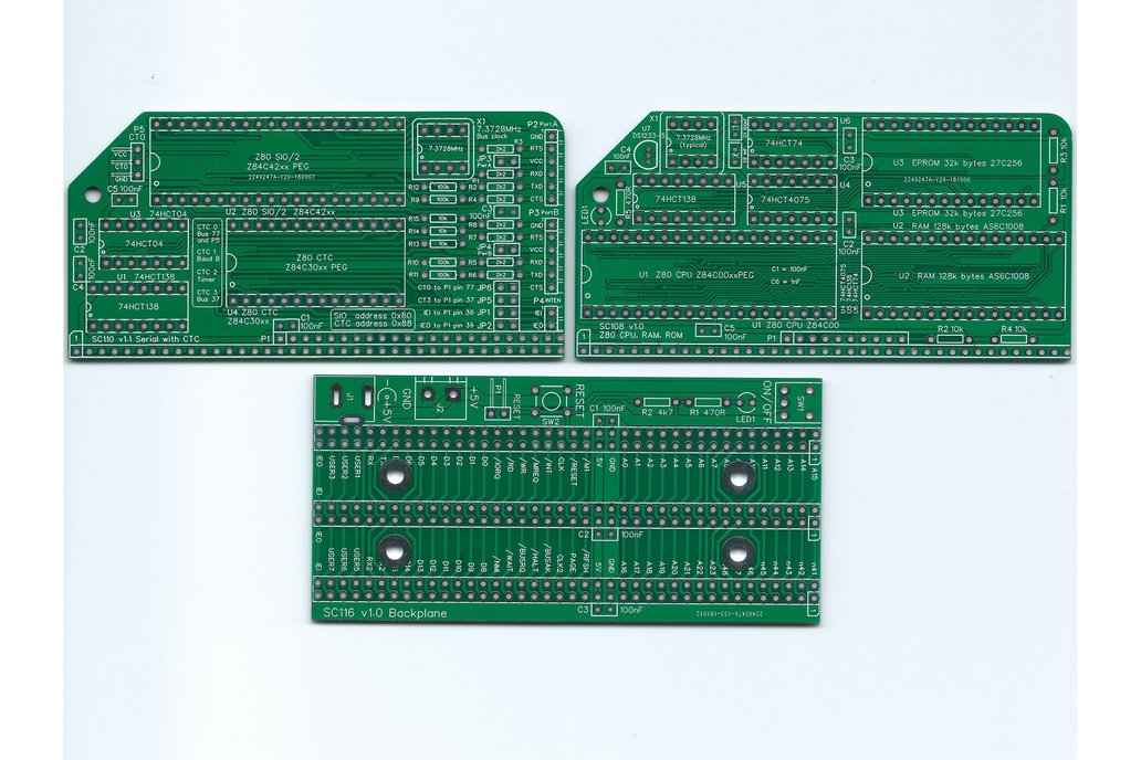SC201 Boards for a minimal Z80 computer 1