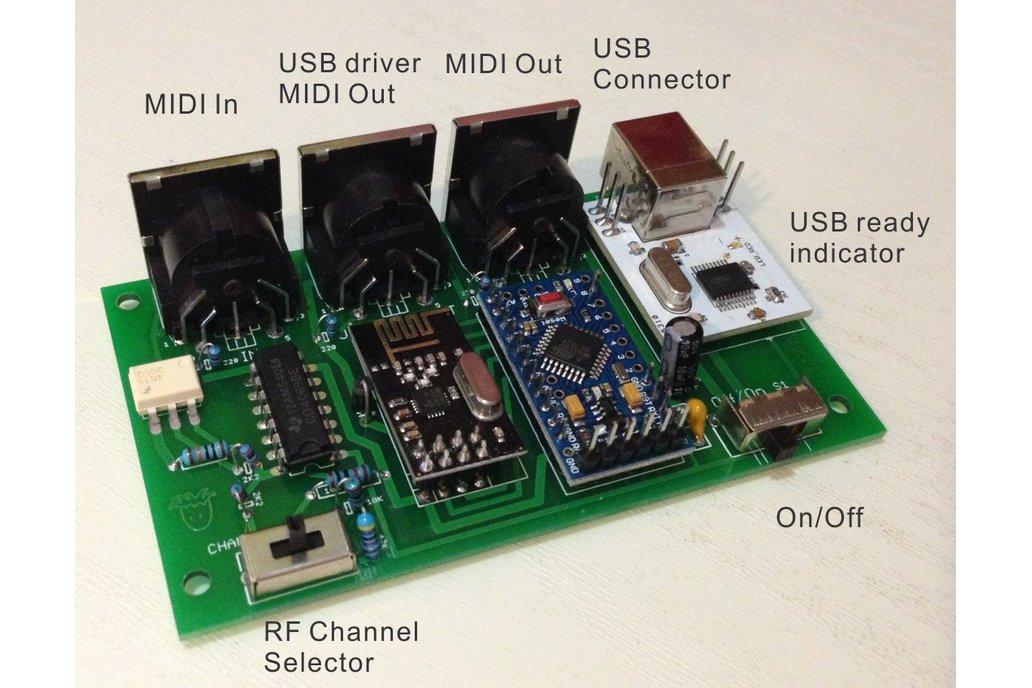 OCTOPUS Wirelss MIDI Interface