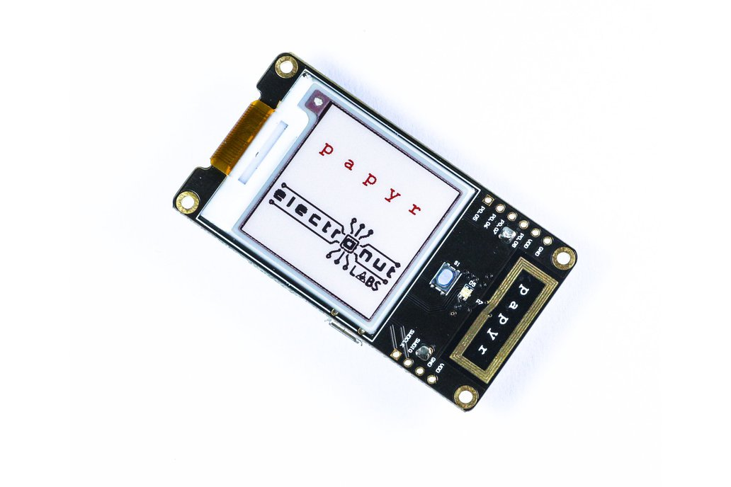 Papyr - Nordic nRF52840 epaper display