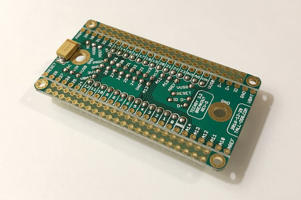 Teensy 3.2 Breakout (Revision D) 7