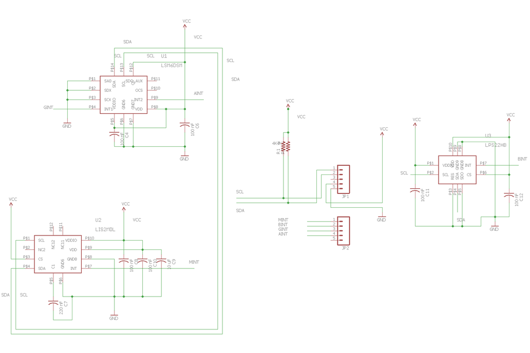 All-ST Motion Sensor Breakout Board 7