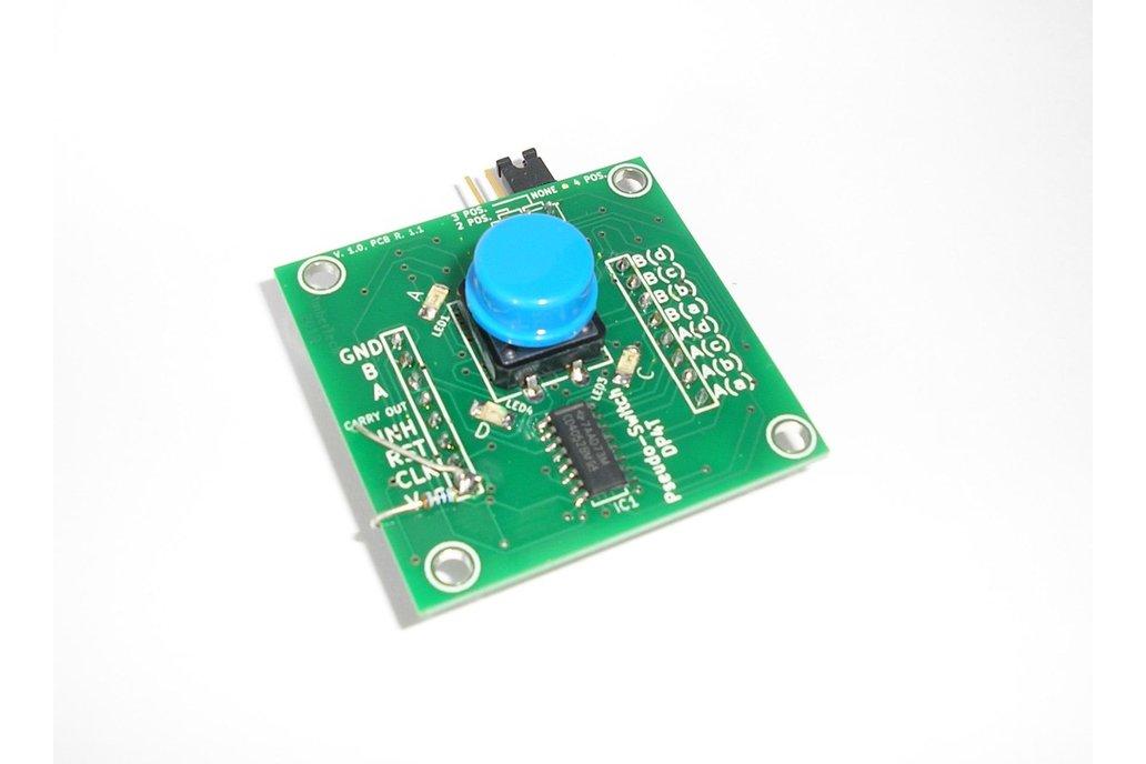 Pseudo-Switch DP4T: 4pos. AC/DC Analogue Switch 2