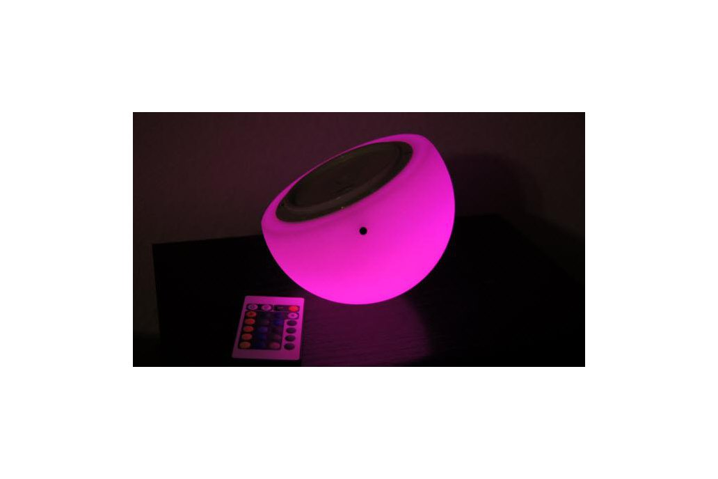 "Brighttone 6"" music activated RGB LED Mini Moon 2"