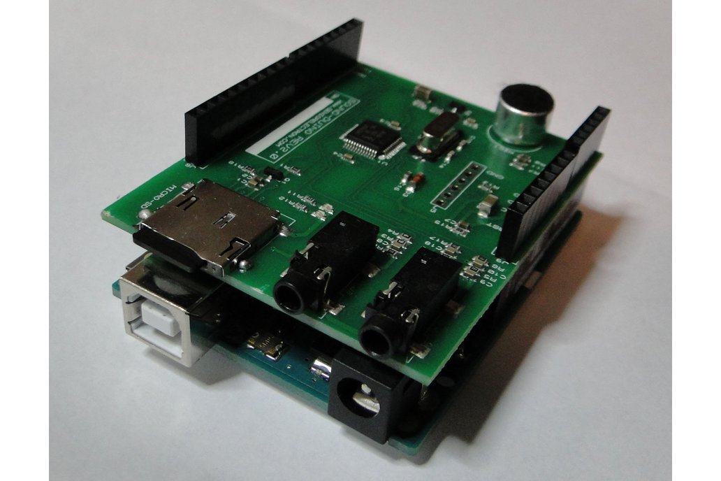 SoundDuino , Audio Shield for Arduino 5