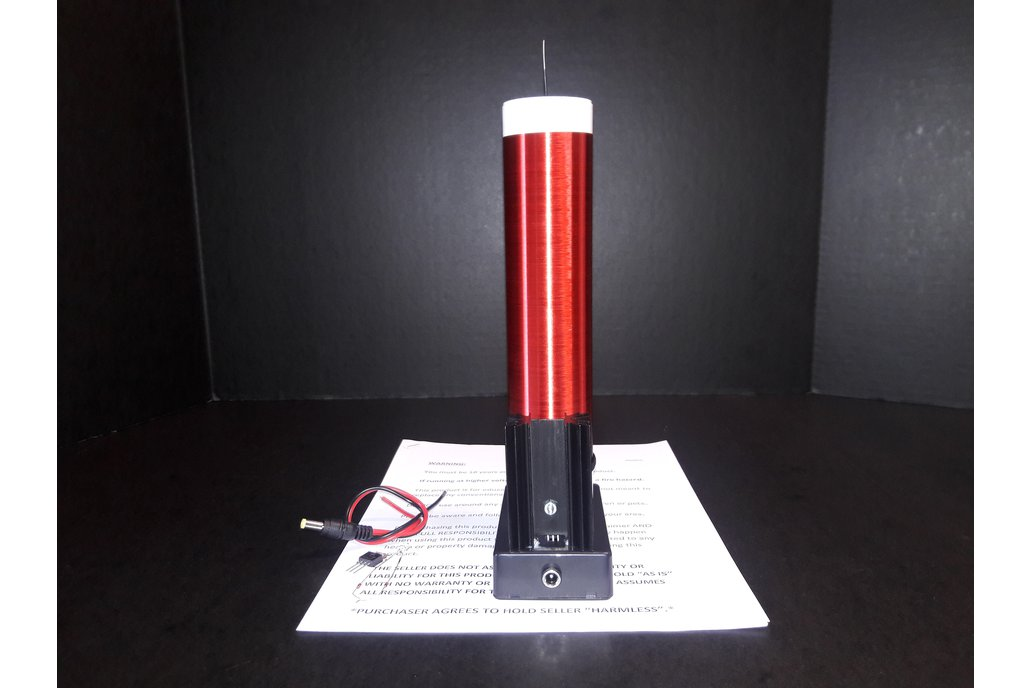 Large Fully Assembled Tesla Coil Made In U.S.A 5