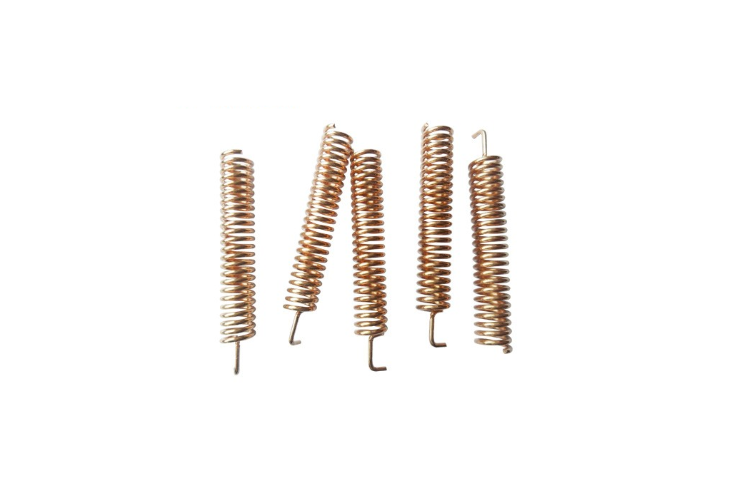 20pcs/lot SW433-TH32 433MHz Copper Spring Antenna  3
