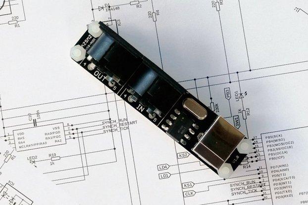AZSMZ USB MIDI Converter PC to Music Keyboard