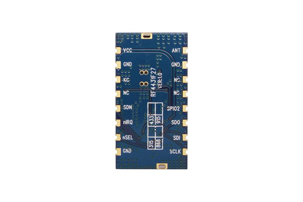 RF4432F27 500mW wireless transceiver module  3