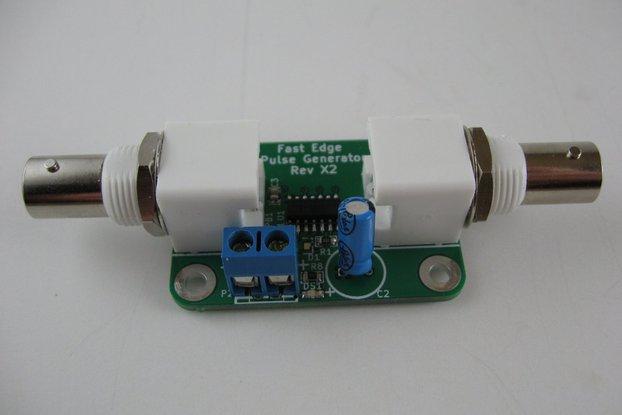 Coax Tester - Fast Edge Pulse Gen. (50 or 75 Ohm)