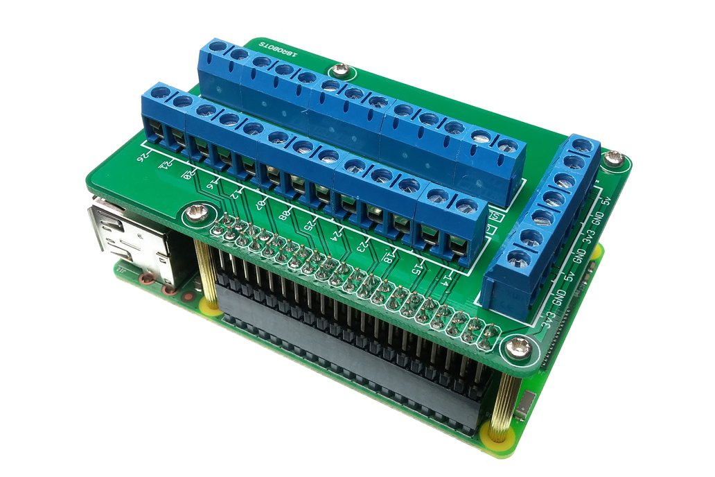Raspberry Pi Screw Terminal Shield V2 2