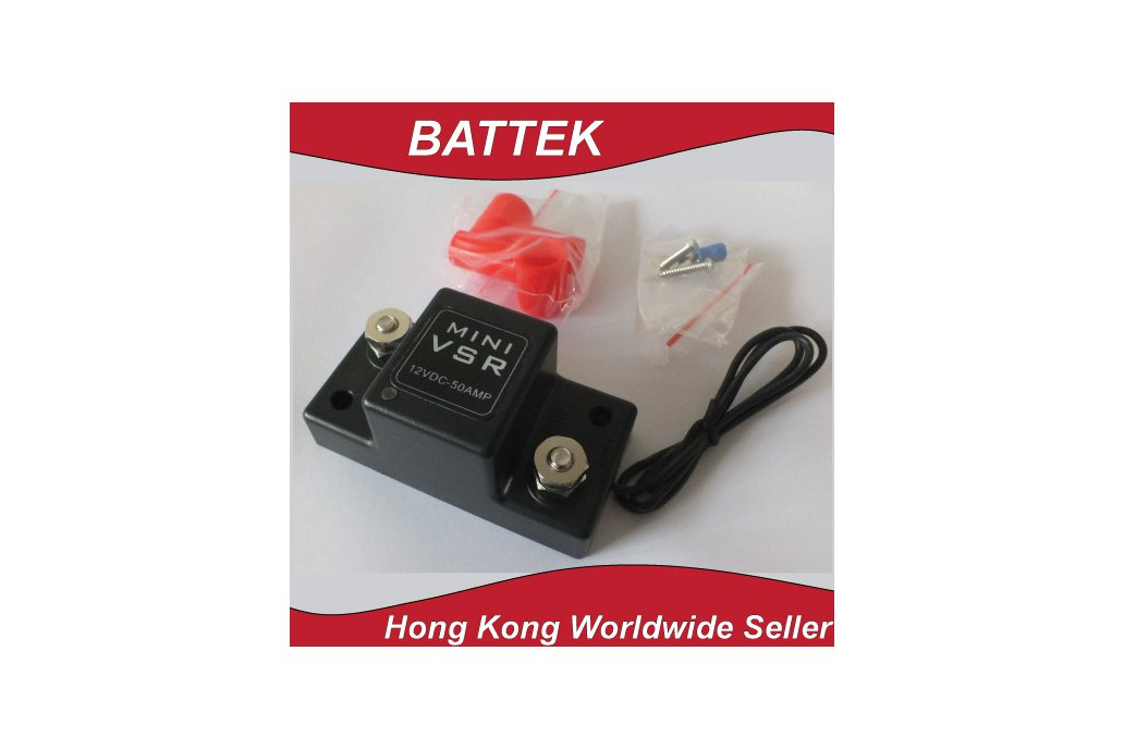 ATV UTV Motorcycle Smart Battery Isolator Mini VSR 3