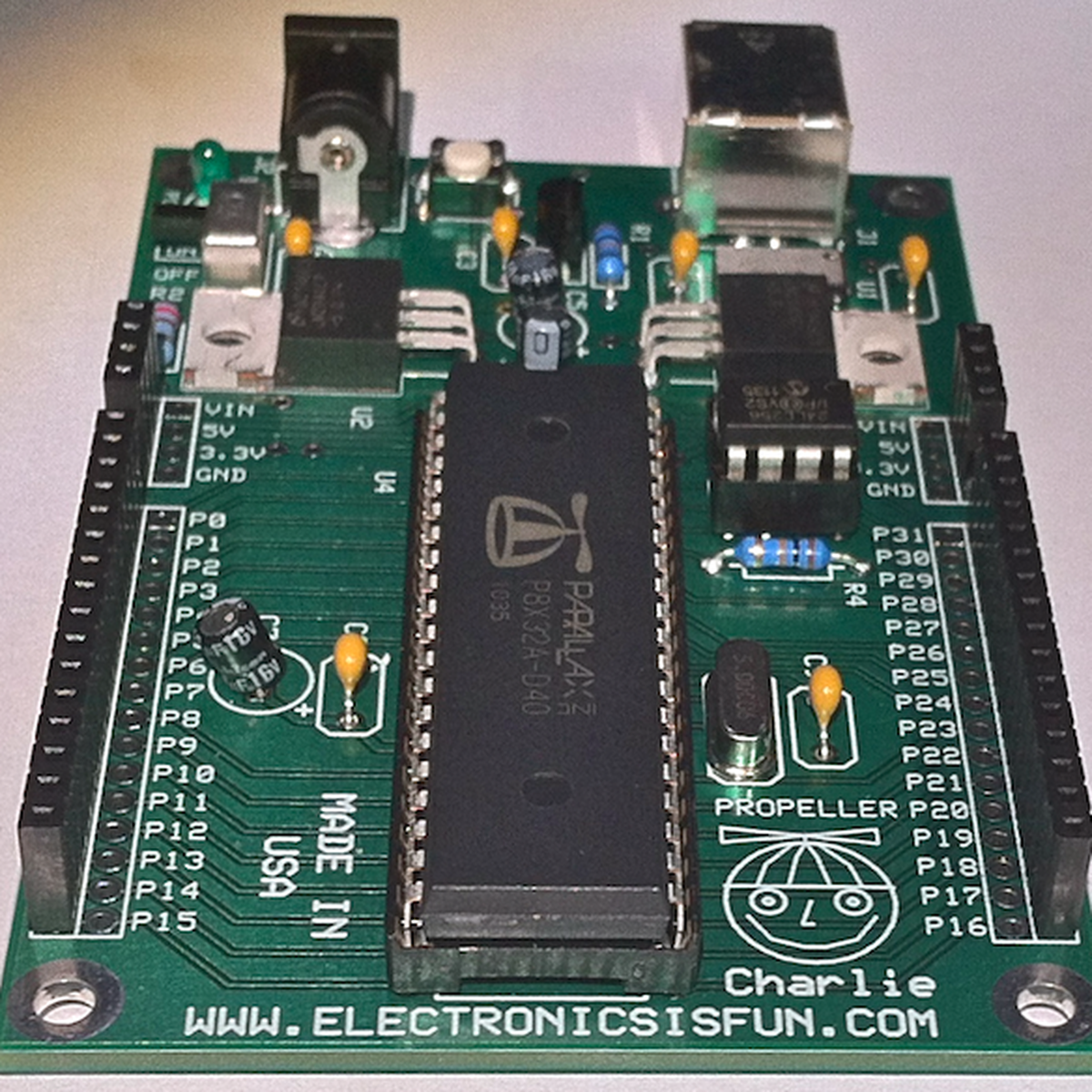 propeller charlie from electronics is fun on tindie