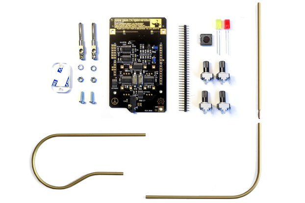 OpenTheremin V3 Shield and Antenna Kit Bundle