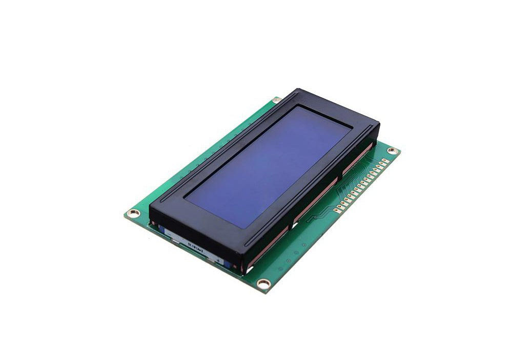 5V 2004 20X4 204 2004A LCD Display Module Blue Screen For Arduino 1