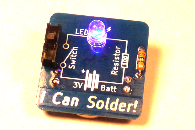 I Can Solder Badge