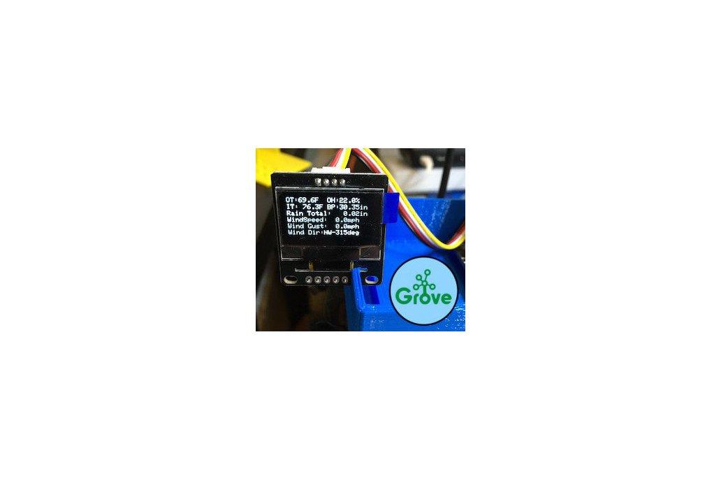 Grove 128x64 I2C OLED Board-Arduino/ Raspberry Pi 1