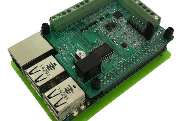 Raspberry Pi IO analog/digital IO board