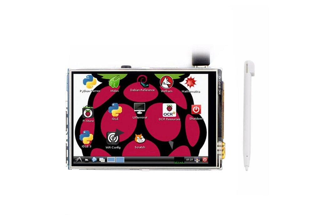 "Raspberry Pi 3 Model B + 3.5"" Display Kit 4"