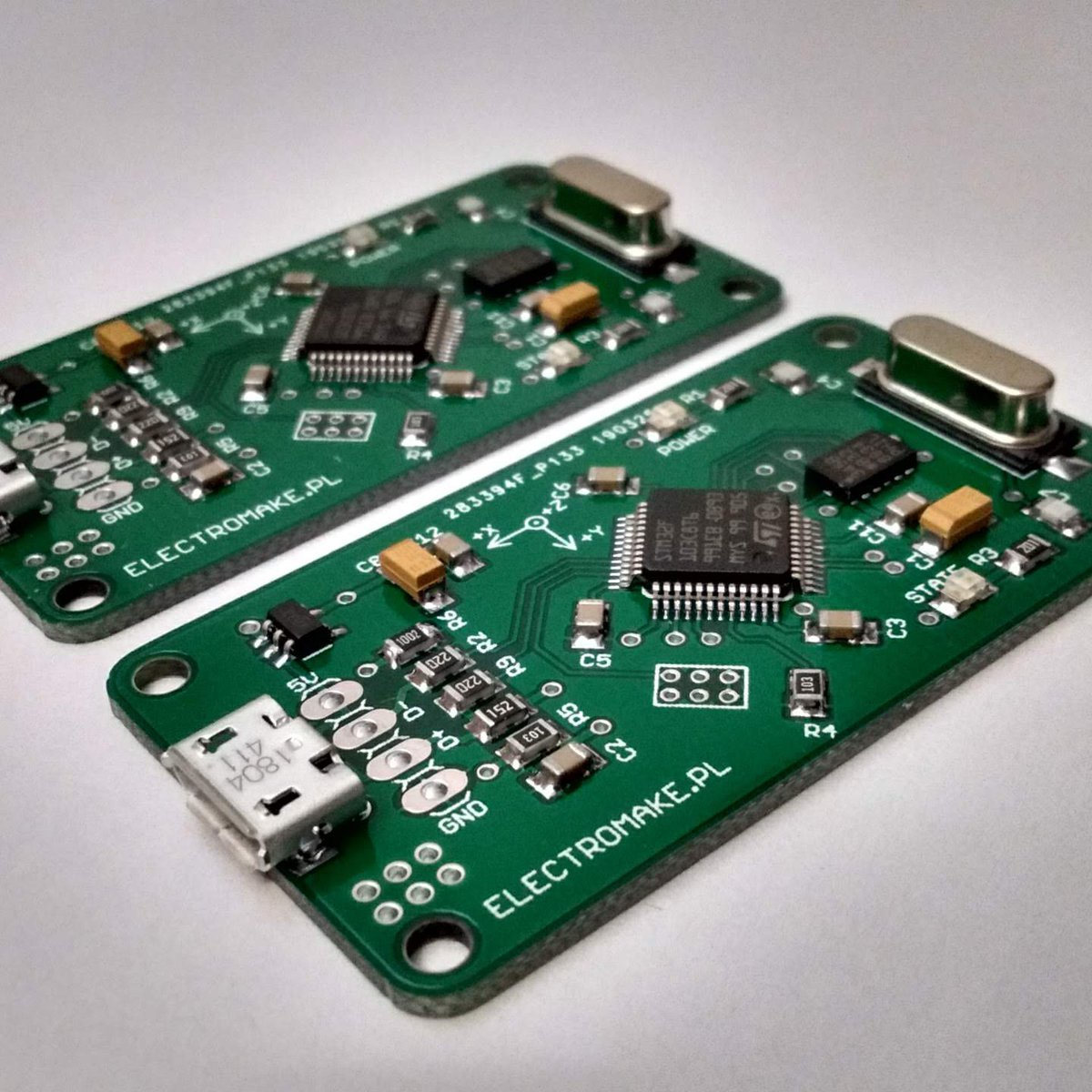 3 axis USB accelerometer from electromake on Tindie