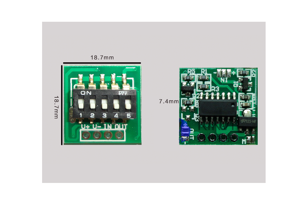 Timer Switch Controller Module(7511) 5