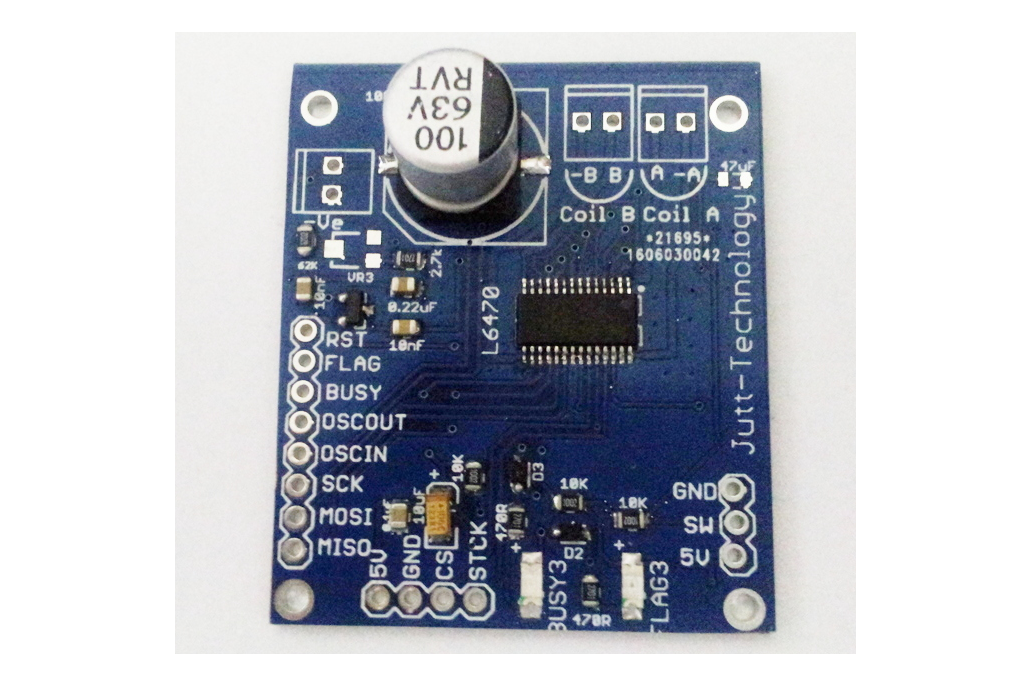 L6470 Stepper Motor Driver SPI interface 1
