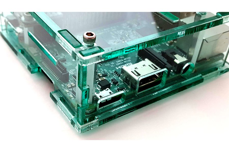 Enclosure for Raspberry Pi 3 and LiFePO4wered/Pi3