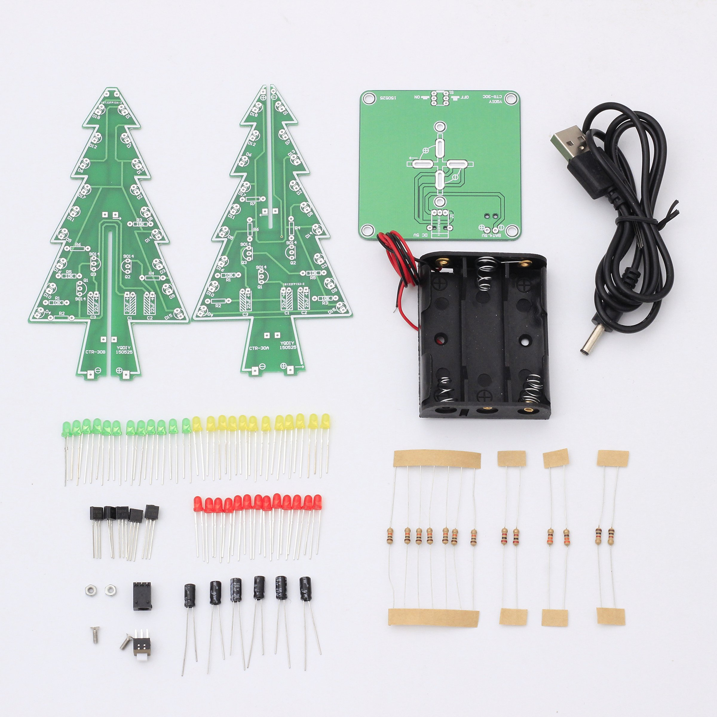 Diy Flashing Led Christmas Tree Circuit Kit7212 From Icstation On Circuits And Projects Electronic Diagram 5