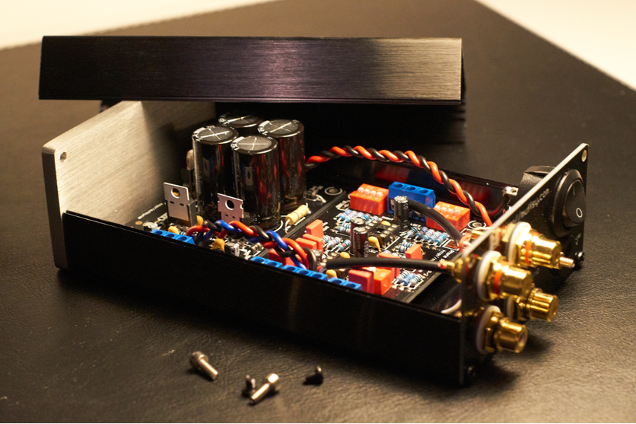 Muffsy Phono Preamp Back Panel