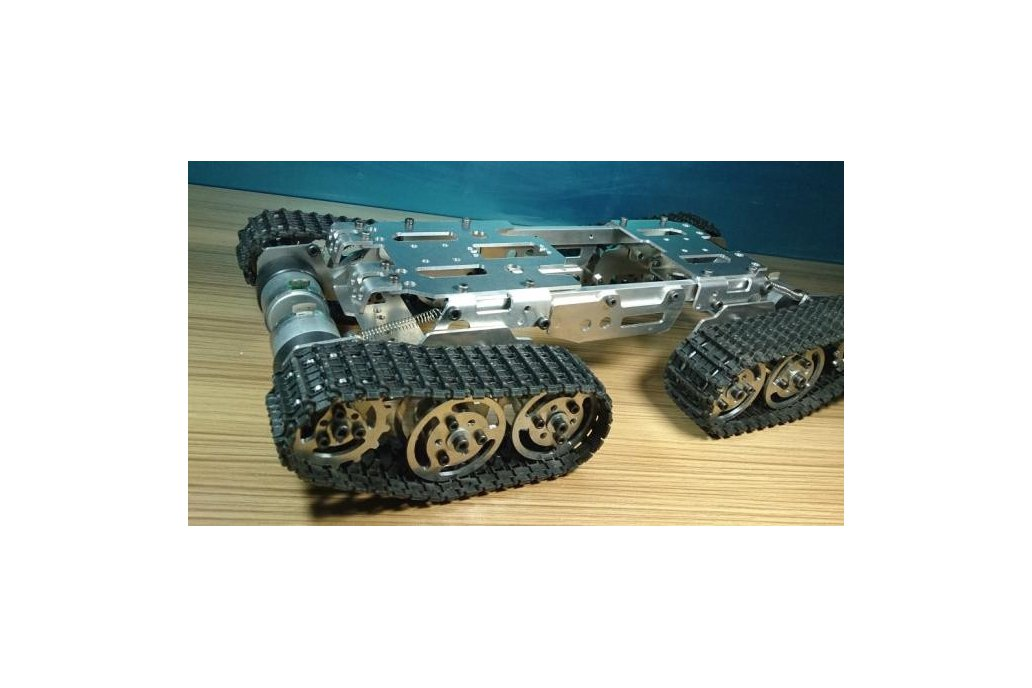 Obstacle Avoidance barrowland  Tank Chassis 3