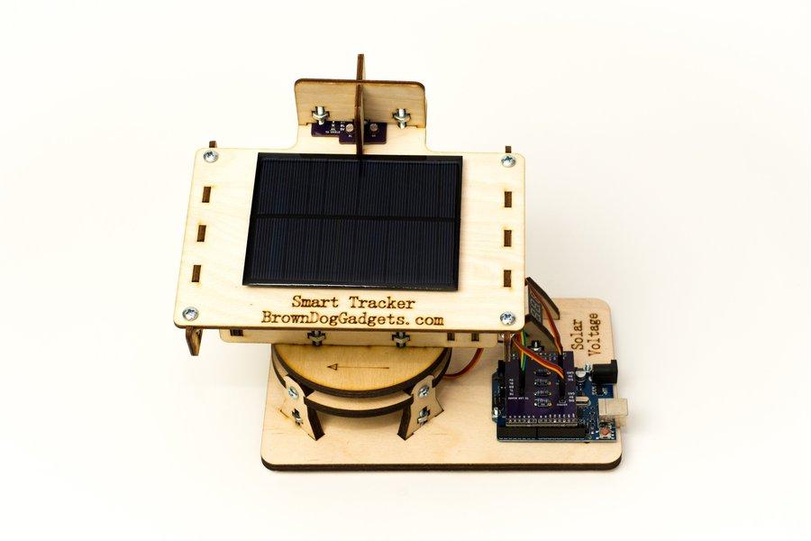 Dual Axis Smart Solar Tracker