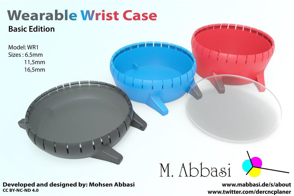 Wearable Wrist Case – Model WR1 2