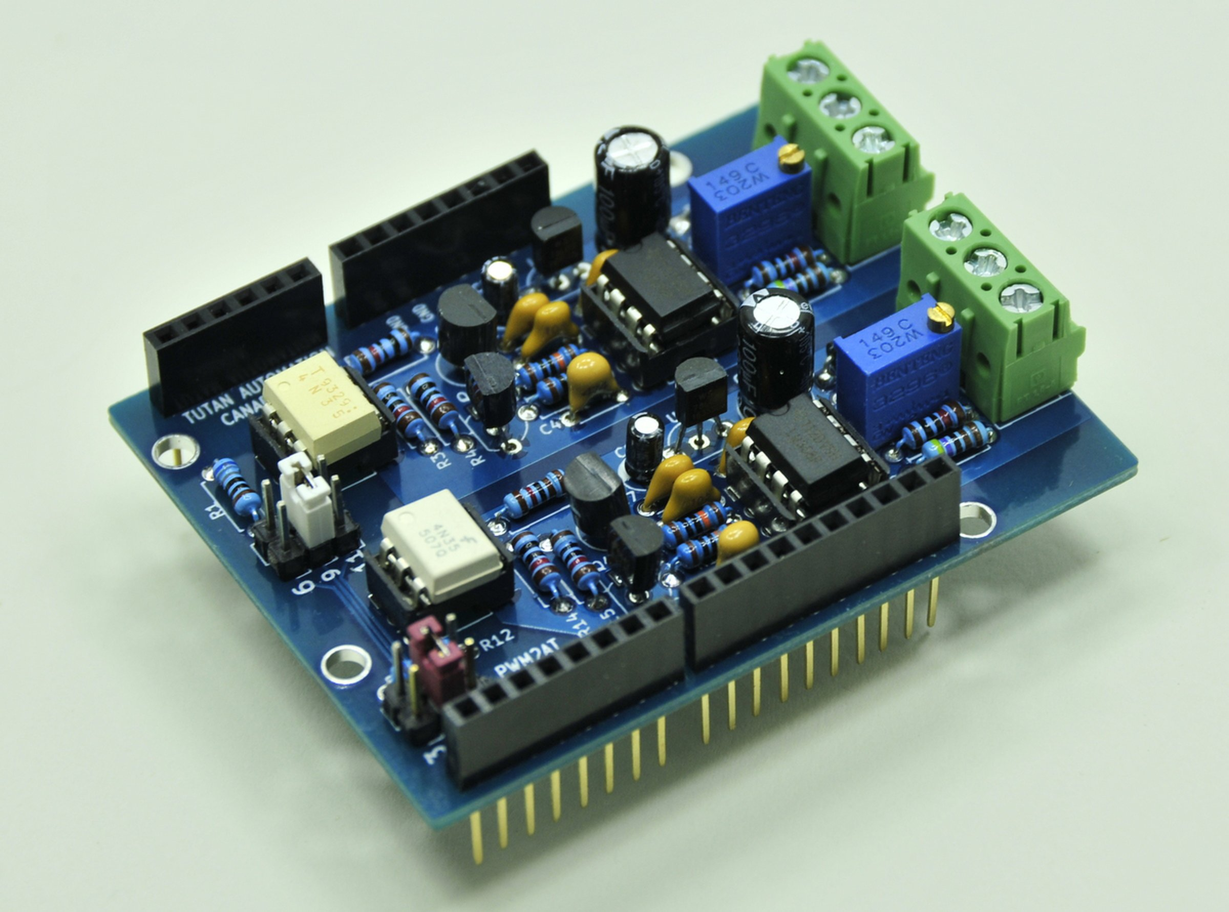 Isolated Pwm Analog Output For Arduino From Tutan On Tindie Electronics Forum Circuits Projects And Microcontrollers 4