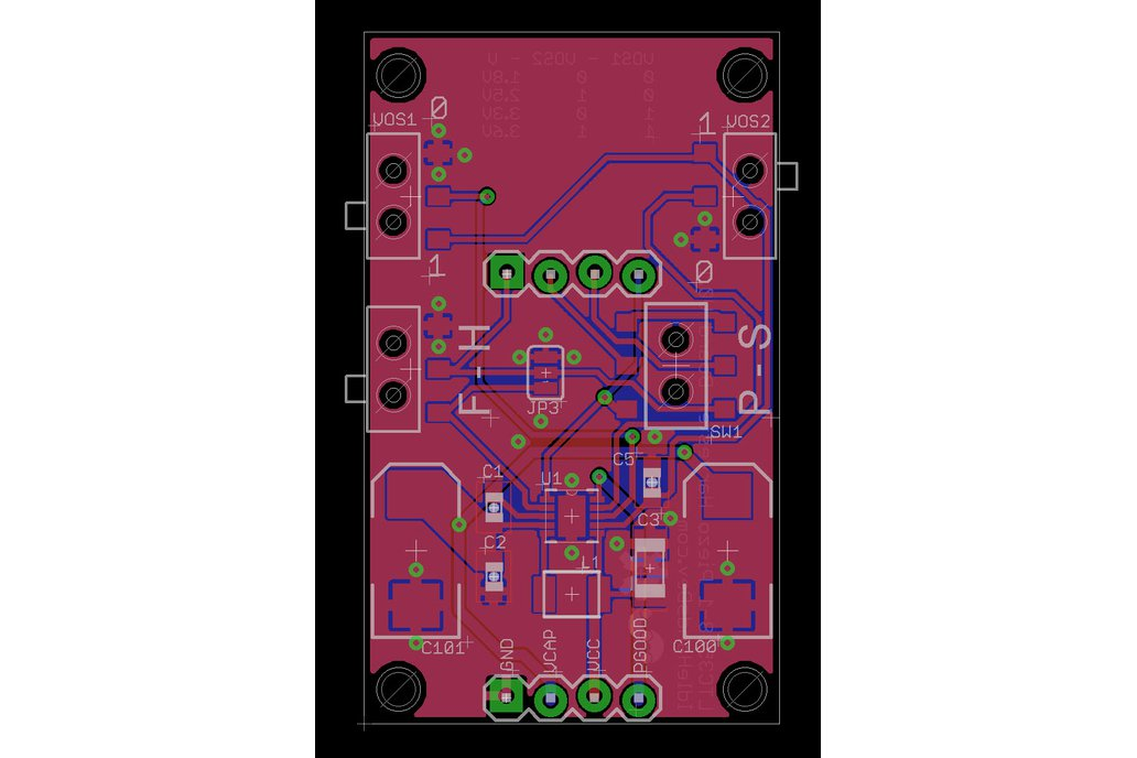 Piezo Energy Harvester - LTC3588 Demo Board  2