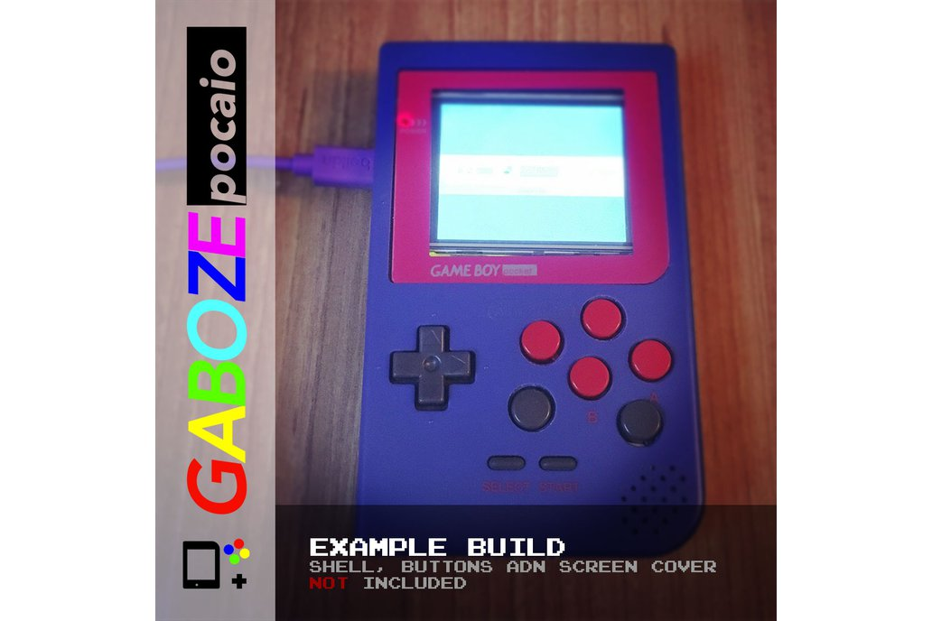 Gaboze Pocaio - Game Boy Pocket All In One 16