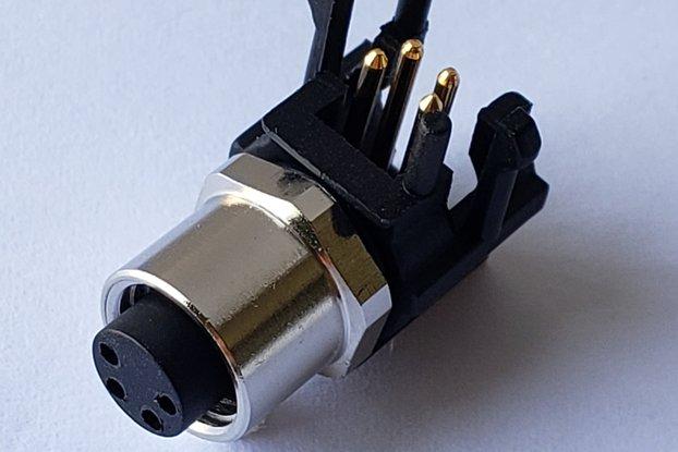 TE 3-2172068-2 4 Position Circular Connector