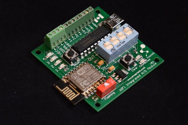 Analog-Digital 4-Input/4-Output WiFi Module
