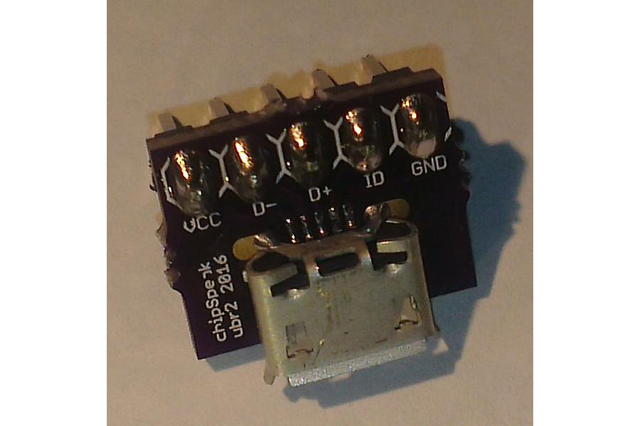 Micro USB Breakout