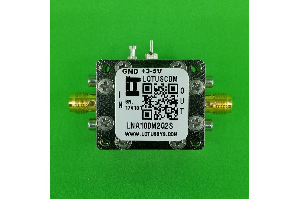 Amplifier LNA 0.45dB NF 100M~2GHz 1