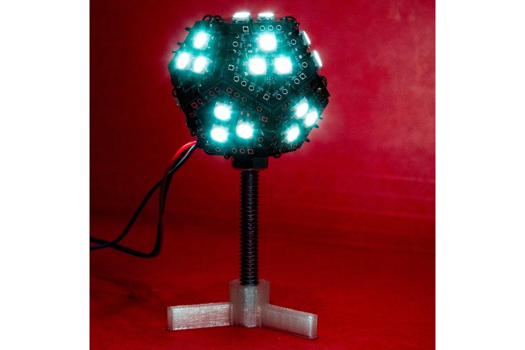 WS2812B RGB LED Globe Soldering Challenge Kit 2