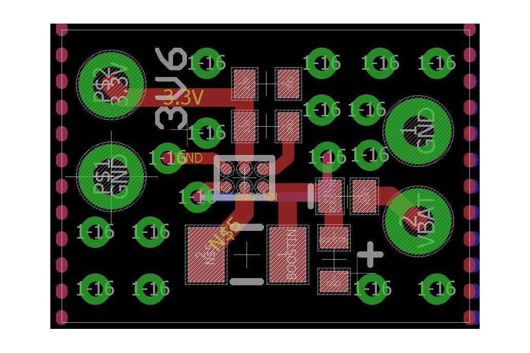 TPS610995 3.6 V Booster Board 5