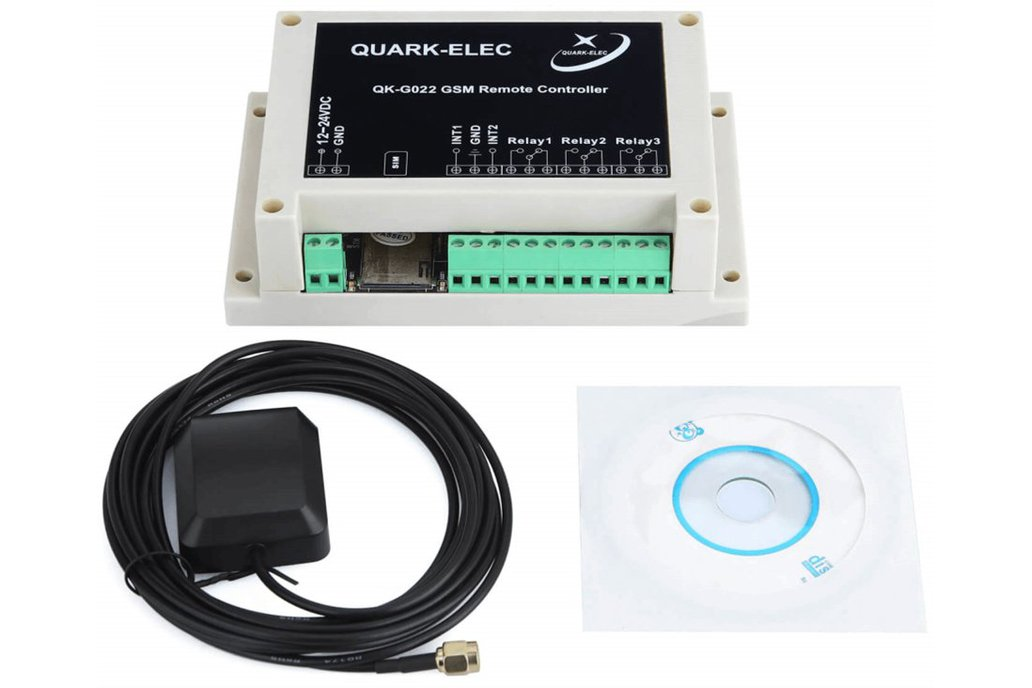QK-G022G GSM SMS Remote control with GPS receiver 6
