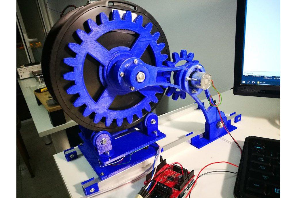 Arduino controlled 3D filament dispenser 1