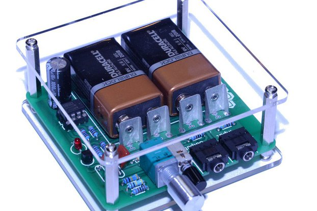 Lucid Labs Deluxe CMOY Headphone Amplifier 18v