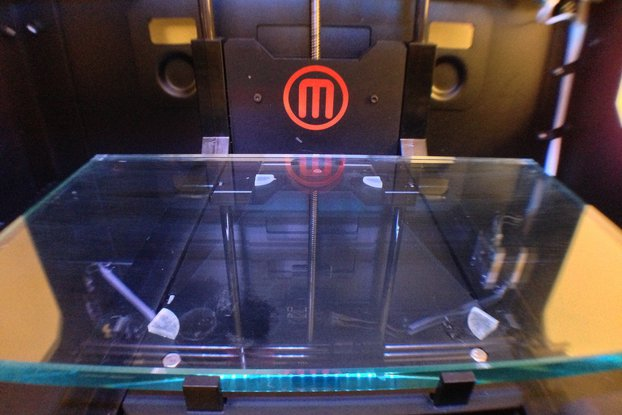 Makerbot Replicator 2 Glass Build Plate Upgrade