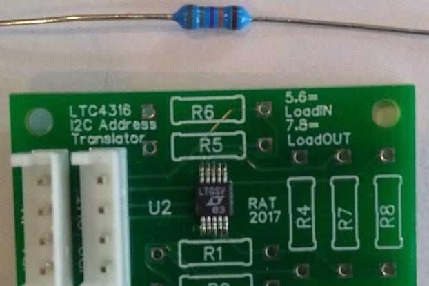 LTC4316 I2C translator expander JST EH connectors