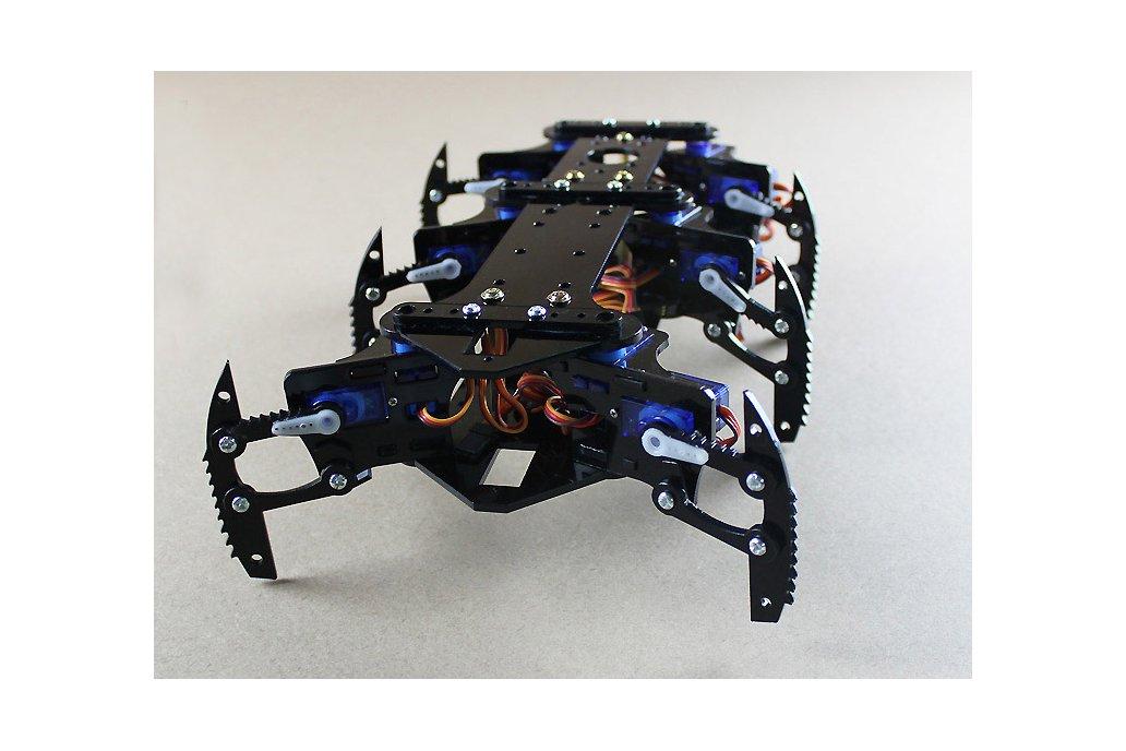 Acrylic Spider Hexapod Robot Kit 7
