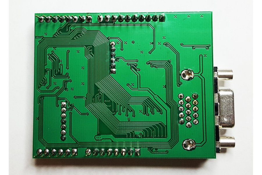VGADuino-II 256 Color VGA shield for Arduino