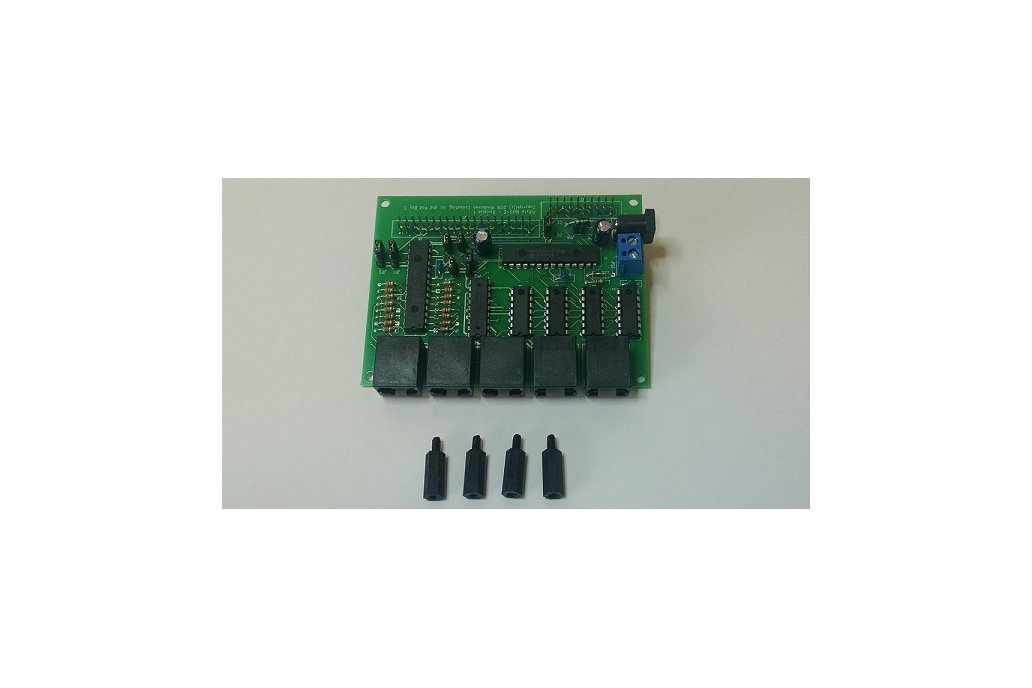 PiRyte Multi-S Extended I/O for Model Railroading 1