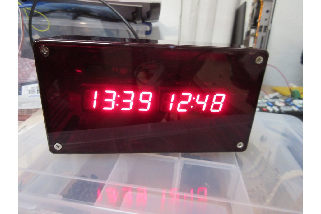 High Accuracy NTP+Wifi Based Clock 1